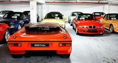 Join our tour of BMW's secret storage lair Bmw Turbo, Secret Storage, Race Cars, Classic Cars, Racing, Tours, Join, Magazine, Money