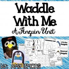 Students complete an entire unit based on penguins!