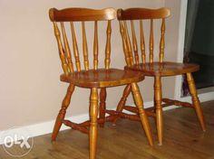 Krzesła gięte drewniane 4 szt. Poznań - image 1