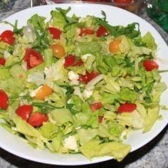 Izraeli saláta - yerakot | Nosalty Mozzarella, Guacamole, Cabbage, Mexican, Keto, Vegetables, Ethnic Recipes, Food, Essen