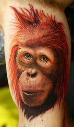 Realism Animal Tattoo by John Nemesis Anderton?
