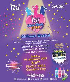 Siapa yang mau nonton aksi panggung TheOvertunes dan mendapat kesempatan untuk foto bareng mereka? Yuk, datang ke acara GADIS pada Sabtu, 14 Januari 2017 di Gandaria City, Jakarta!