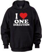 I Love One Direction Hoodie:Amazon:Clothing