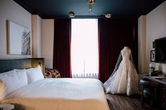 The Very First Wedding Open House at The Broadview Hotel Lace Ball Gowns, Toronto Wedding, Bustle, Weekend Is Over, Open House, Sash, Weddings, Furniture, Design