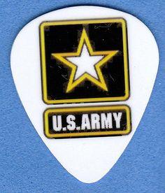 US ARMY GUITAR PICK