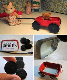 Shades Of Tangerine: #Calico Critter Play Room #wagon
