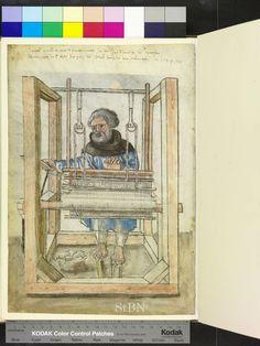 Amb. 279.2° Folio 14 verso (Landauer I) Inschrift und Bildnis entstanden nach dem Tod des Bruders.  Datierung:1524