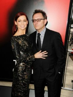 Carrie Preston and Michael Emerson, True Blood premiere