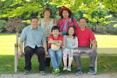 11-15 Portrait of happy grandparents and grandchildren sitting... #domzale: 11-15 Portrait of happy grandparents and… #domzale