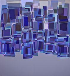 """Collection VI"", egg tempera on canvas,  130x120 cm, 2014r"