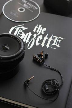 the GazettE Kai produce earphone 2013