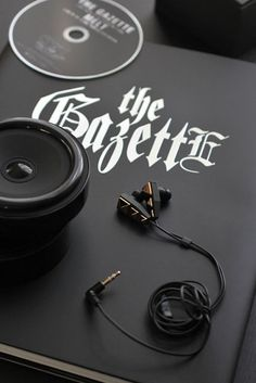 the GazettE Kai produce earphone 2013