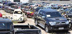 SERROTENEWS: Com lances de até R$ 50, centenas de veículos apre...