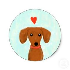 """Acquire fantastic pointers on """"dachshund pups"""". Arte Dachshund, Mini Dachshund, Daschund, Dachshund Puppies, Weenie Dogs, Doggies, Wow Art, Dog Paintings, Dog Love"""