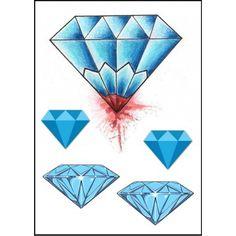 tatouage diamant old school
