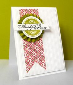 simple holiday card by Penny Black Designer, Stephanie Wincott