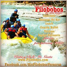 Un día en #filobobos una #aventura como ninguna otra http://www.filobobos.com #Veracruz #Mexico