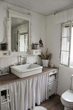 Old fashion bath.