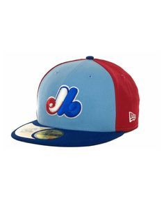 New Era Montreal Expos Cooperstown Patch 59FIFTY Cap