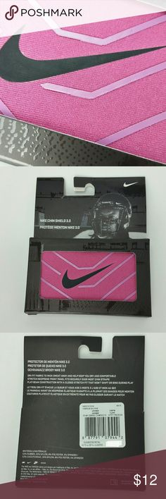 Nike Breast Cancer Awareness Football Chin Shield Nike Breast Cancer Awareness Football Chin Shield 3.0 Pink Football Helmet Strap Nike Other