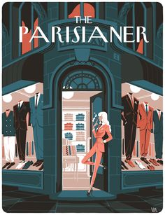 VIncent Mahé, The Parisianer - (MessieursDame)