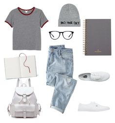 """""""Uni's OOTD"""" by elasianfashionbeauty on Polyvore featuring Monki, Wrap, Mulberry, Vans and Local Heroes"""