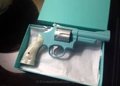 Love it! Tiffany Blue Revolver. I need this for my off duty!!!