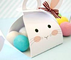 DIY: come fare una scatola-coniglio porta ovetti (free printable)