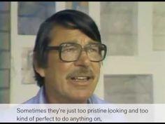 Richard Diebenkorn on Beginning a Painting | Video | 2 minutes