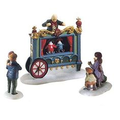 "Department 56 ""The Old Puppeteer"" Porcelain Village Accessories"