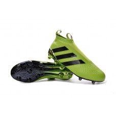 adidas Ace16 Purecontrol FG verde-preto sapatos de futebol baratos 3a0a98917c2a9