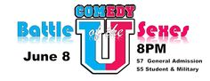 Comedy U - Battle of the Sexes Wednesday Feb 15 - http://fullofevents.com/hawaii/event/comedy-u-battle-of-the-sexes-wednesday-feb-15/