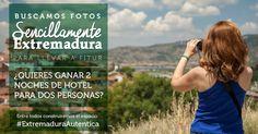 Comparte tu foto y gana un fin de semana para dos personas en Extremadura