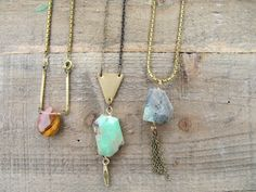 Is it Summer time yet? Cant wait to layer these necklaces over a light blouse or maxi dress. Boho Necklaces | Bohemian Jewelry