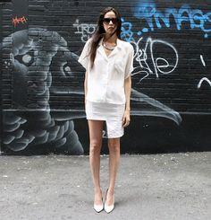 DIY Skirt + Art (by Melissa Araujo) http://lookbook.nu/look/3944194-DIY-Skirt-Art