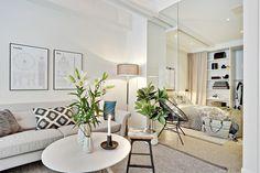 Стильная двухкомнатная малометражка (35 кв. м)   Пуфик - блог о дизайне интерьера