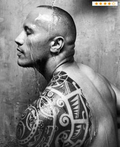 Another look at the hot guy with the awesome tribal tat...