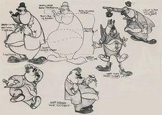 Tex Avery Model Sheets