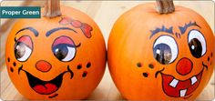 Proper Green: Is it bad to paint my pumpkin? - Live Green - Recyclebank