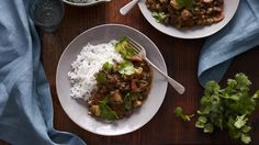 Lamb, Cauliflower and Coconut Curry