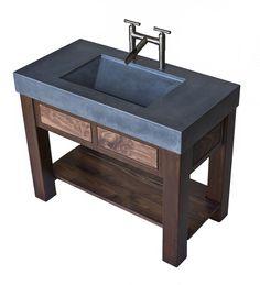 Concrete Bath Room Vanities Concrete Sinks Concrete Countertops See