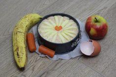 Recept voor taart voor baby's eerste verjaardag. Simpel taartje met pure ingrediënten voor een Rapley baby die 1 jaar wordt.