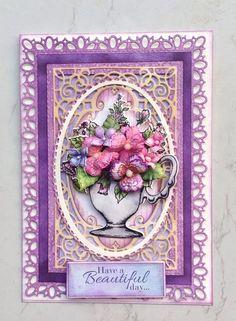 Heartfelt Creations SUMMER/'S GARDEN I Want It All Stamps Dies Paper LOT