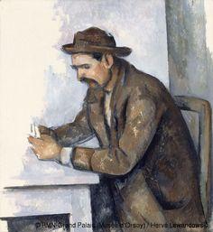 Paul Cézanne (1839-1906) Le joueur de cartes Entre 1890 et 1892 Huile sur toile H. 50,2 ; L. 46,2 cm Paris, Musée d'Orsay Don de M. Heinz Be...