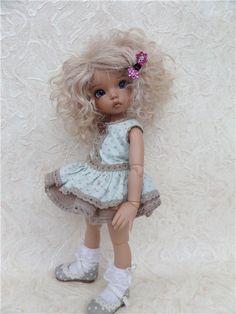Продам парик на шкуре козочки для литтел фи. р.5-6 (16см)«Монро» / Все для BJD / Шопик. Продать купить куклу / Бэйбики. Куклы фото. Одежда для кукол