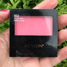 Revlon Powder Blush in Haute Pink Review