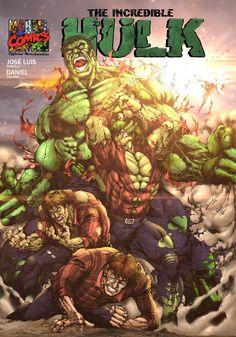 Superman Hulk, Hulk Marvel, Marvel Heroes, Avengers, Comic Book Covers, Comic Books Art, Comic Art, Heroes Reborn, Hulk Art