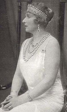 La reina Victoria Eugenia de España.
