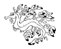 Leafy Sea Dragon Mythical Creatures, Sea Creatures, Coloring Books, Coloring Pages, Colouring, Leafy Sea Dragon, Dragon Horse, Australian Animals, China Painting
