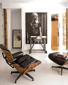urbnite:Eames Lounge and Ottoman